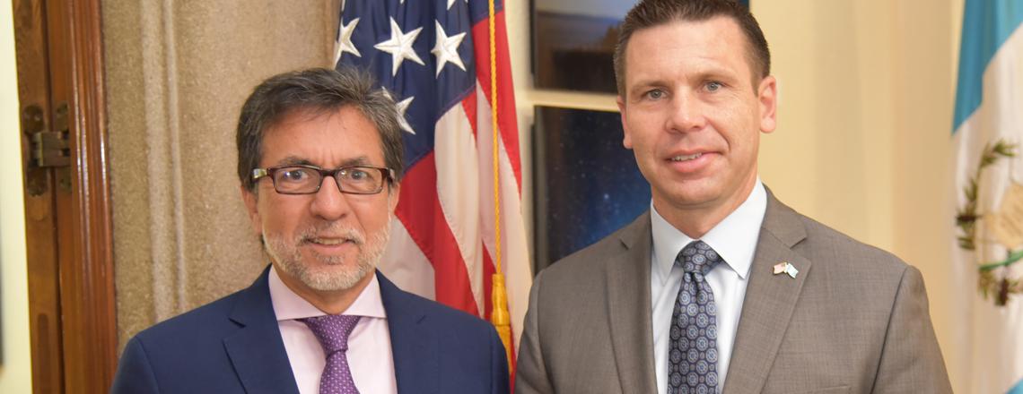 Visit by DHS Acting Secretary Kevin K. McAleenan