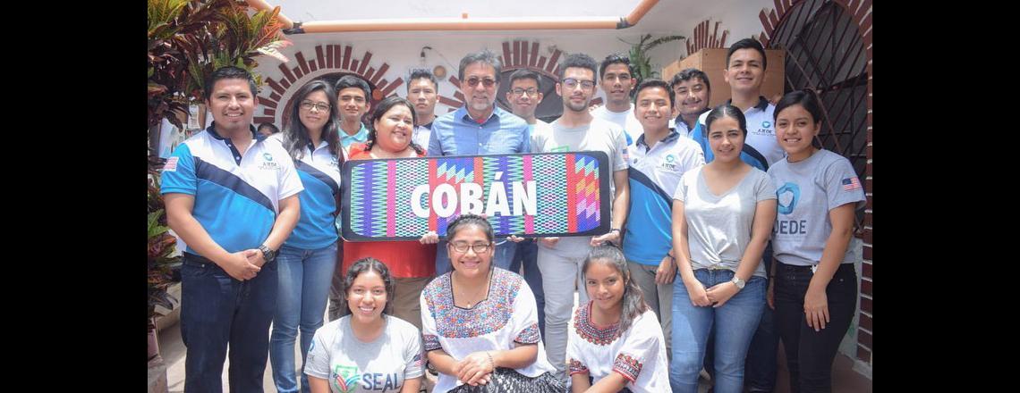 Access alumni from Cobán met with Ambassador Arreaga