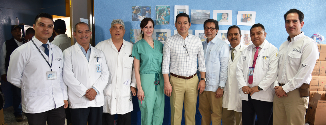 "Visit to ""Beyond the Horizon"" exercise in Huehuetenango"