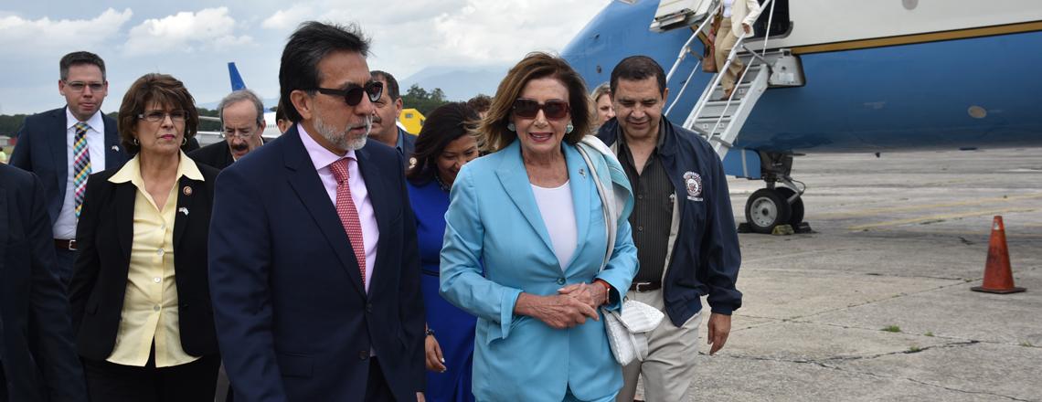 Delegación bipartidista del Congreso de los Estados Unidos visitó Guatemala