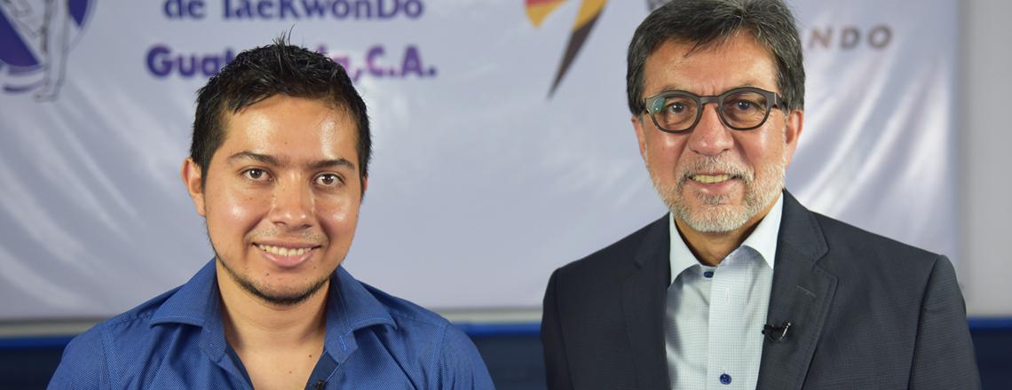 Ambassador interviews multi-medalist in ParaTaekwondo, Gersson Mejía