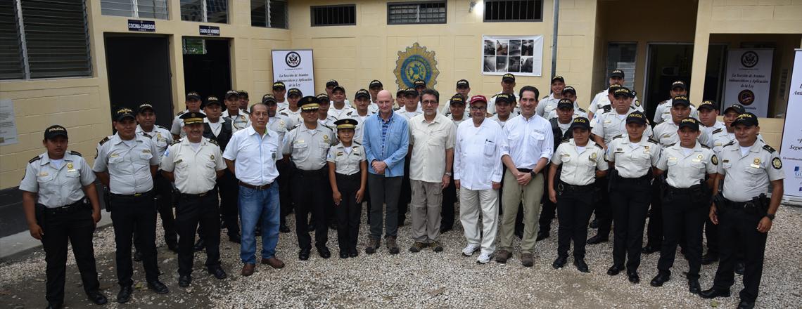 Model Police Precincts in Petén