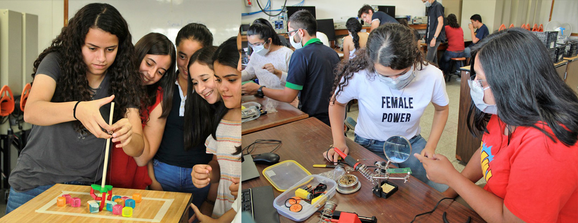 """Course closing """"Women in Engineering"""""""