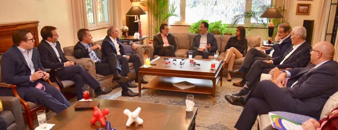 Reunión con Pronacom y sector privado