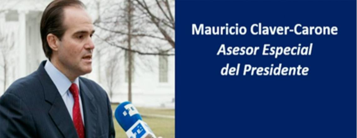 Message from Mauricio Claver-Carone, Advisor to President of Donald Trump