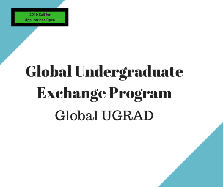 Global UGRAD:  Open call for applications