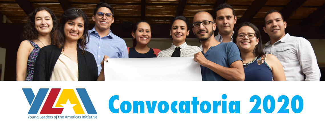 Convocatoria Young Leaders of the Americas Initiative (YLAI) 2020