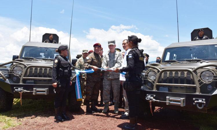 Inauguración de la Fuerza de Tarea Xinca