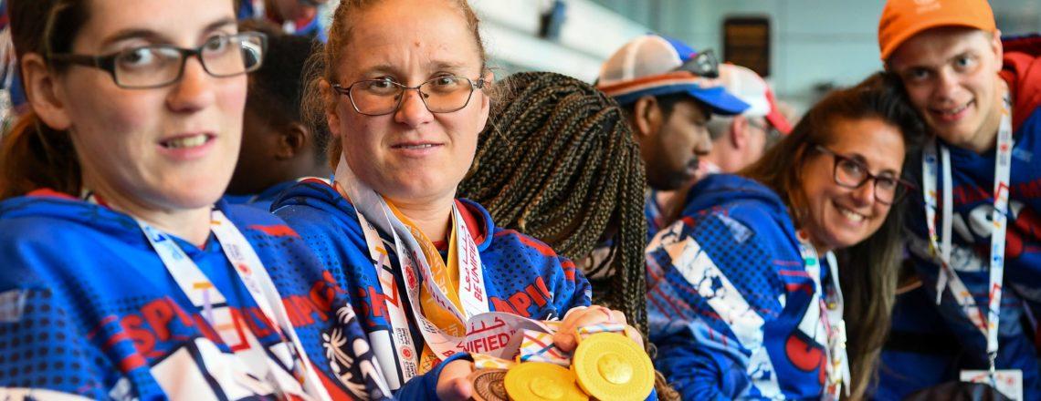 U.S. Special Olympics Team departs from Abu Dhabi International Airport
