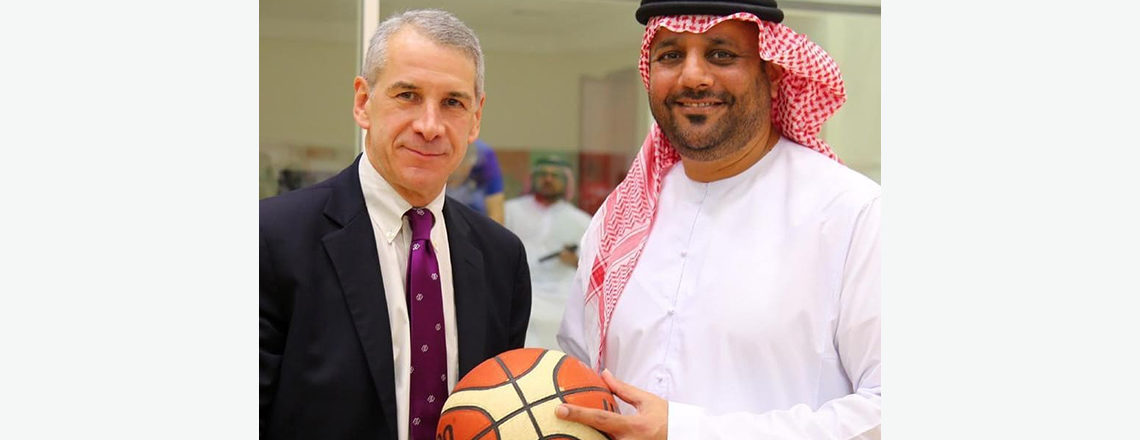 US Consulate General sponsors the basketball camp in Sharjah