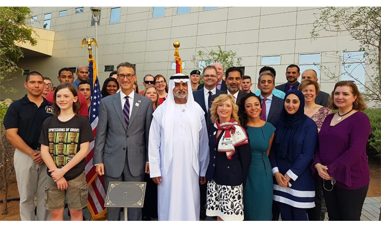 Planting a ghaf tree | U S  Embassy & Consulate in the United Arab
