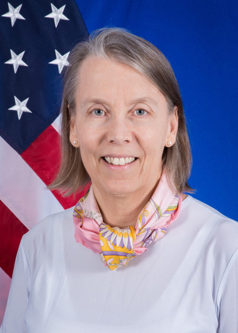 Photo of Ambassador Lucy Tamlyn