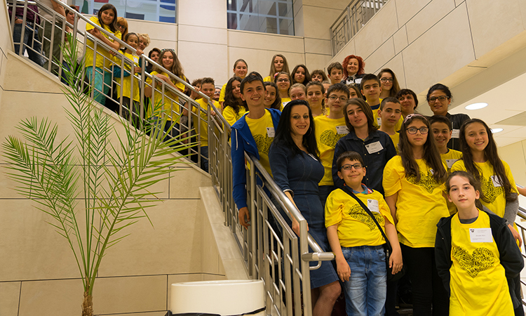 Bulgaria's Spelling Bee Finalists Visit the U.S. Embassy