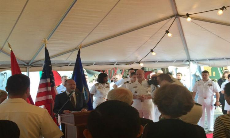 USS Oscar Austin Visits Varna