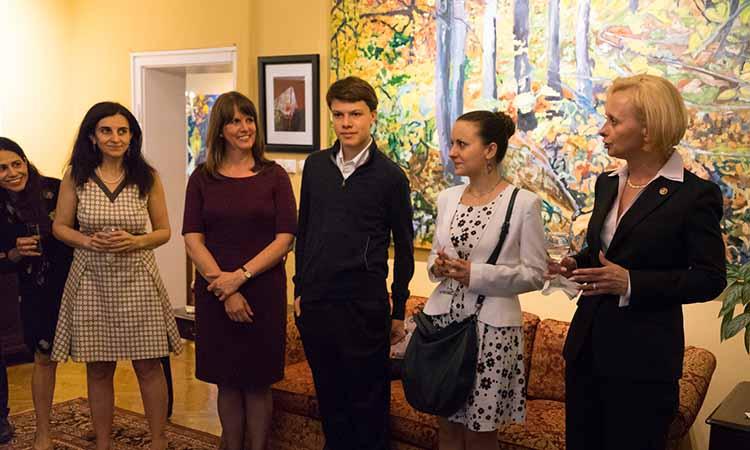 """Посолството на САЩ организира прием в чест на Фондация """"Елизабет Костова"""""""