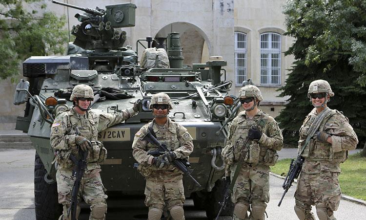 Представяне на бойна техника в София (Снимка: Посолство на САЩ)