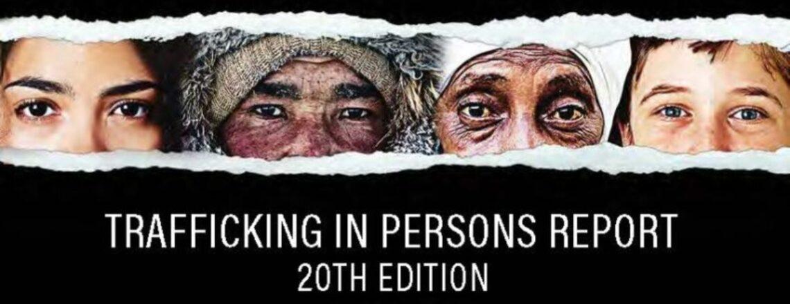 Държавният департамент оповести доклада за трафика на хора 2020 г.