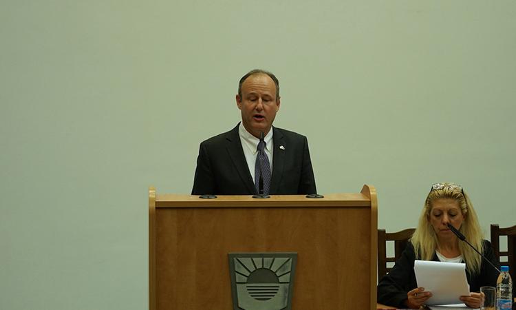 Ambassador Rubin in Burggas