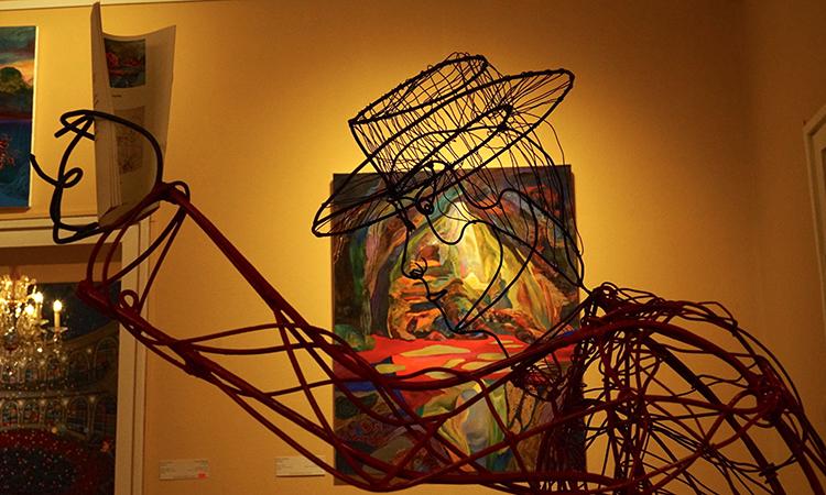 Sculpture Tihomir Todorov, picture Silvia Pavlova