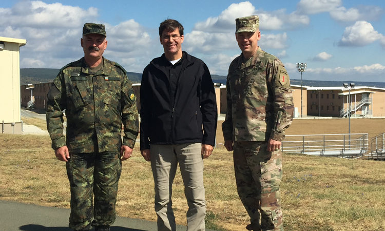 The U.S. Secretary of the Army Mark Esper's Visit to Bulgaria