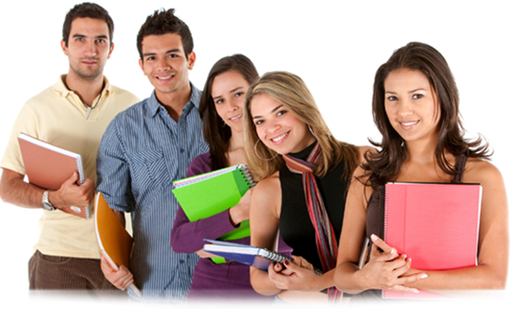 Students in group