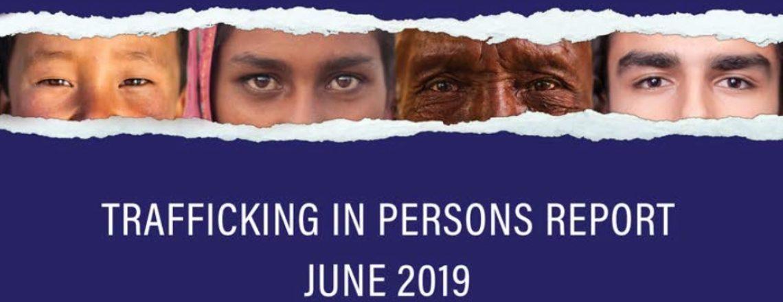 Доклад на Държавния департамент на САЩ за трафика на хора за 2019 г.