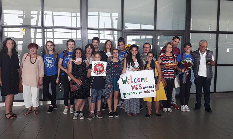 Участници в Програма YES abroad
