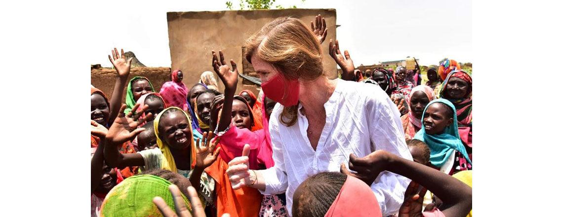 USAID Administrator Power Visits Sudan