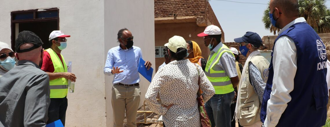 USAID and IOM visit to Jabel Awlya