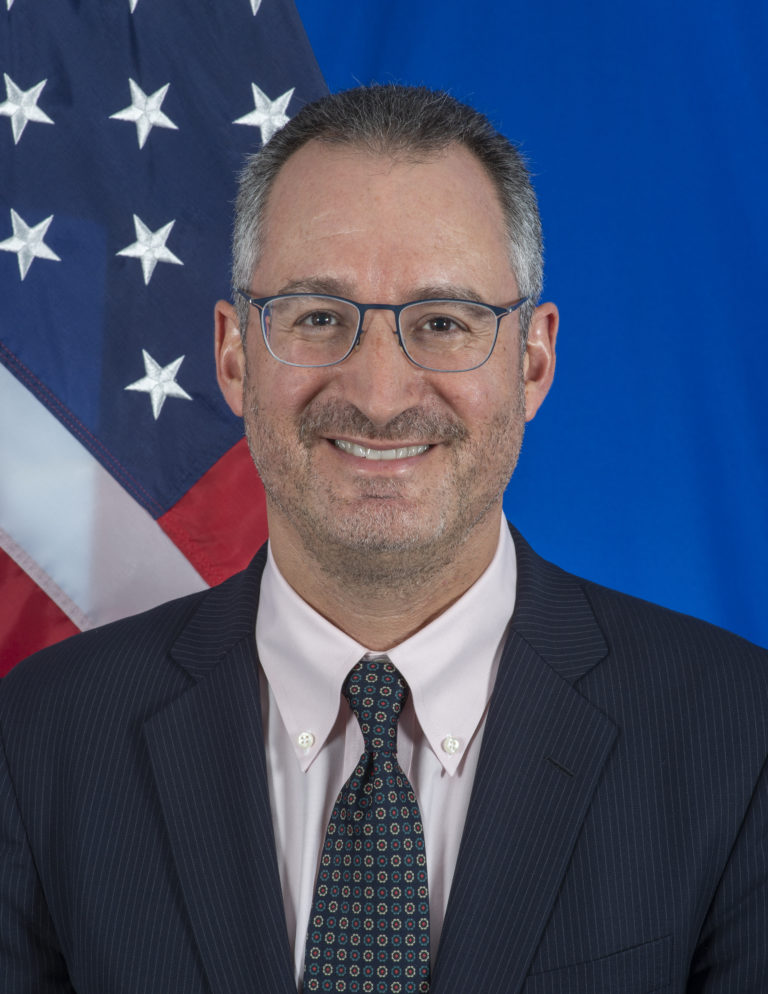 Photo of Chargé d'Affaires Brian Shukan