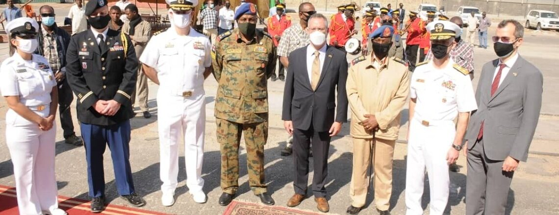 USS Winston Churchill visits Sudan for the first time