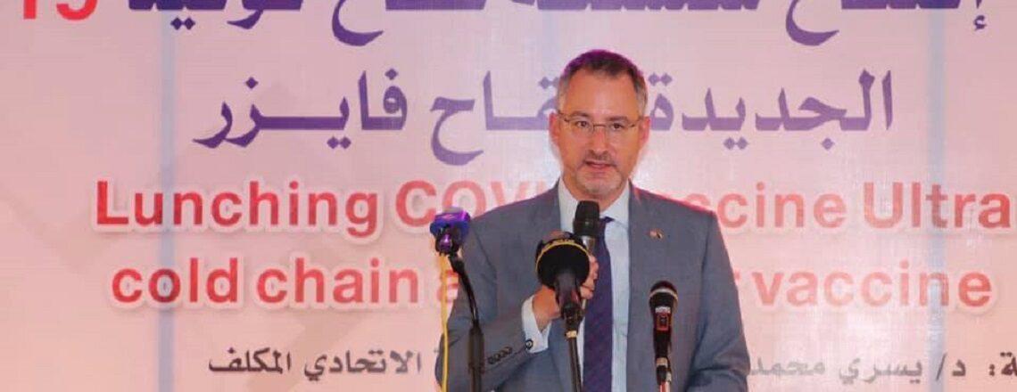 Ultra-low temperature cold chain system in Sudan