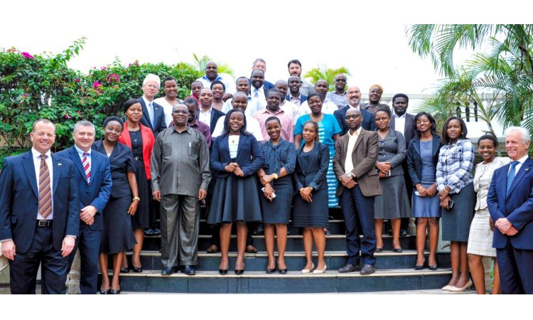 "Participants of the training ""A Team Approach - The Investigation and Prosecution of Corruption Cases,"" which was organized by the U.S. Embassy's Office of Overseas Prosecutorial Development, Assistance and Training (OPDAT)"