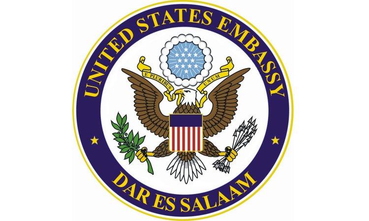 Logo: United States Embassy Dar es Salaam