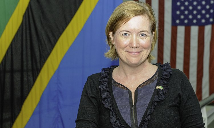 Virginia Blaser, Chargé d'Affaires of the United States of America