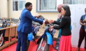 750X450_Motorcycle handover – USAID