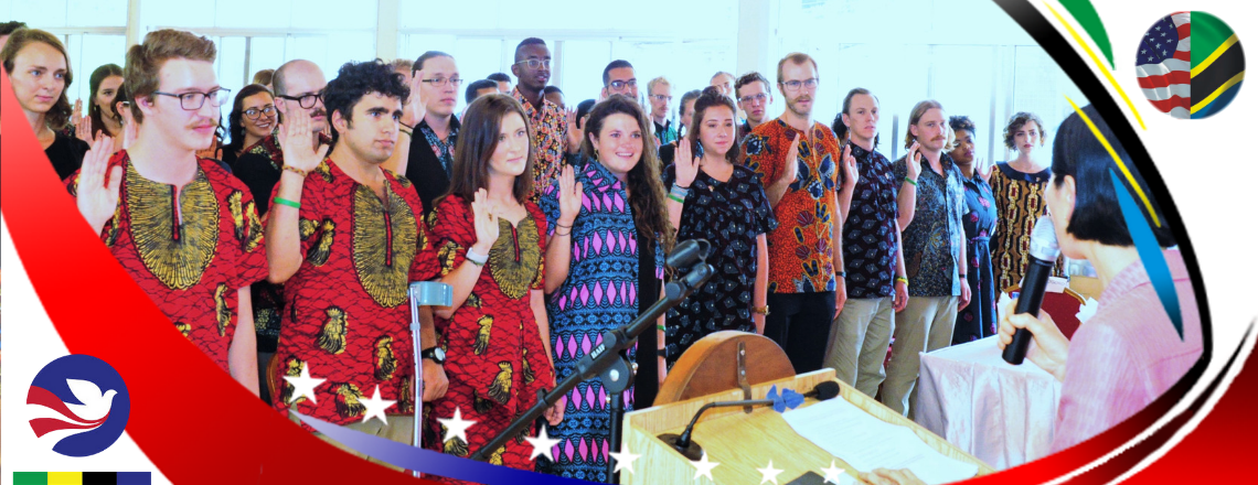 U.S. Peace Corps Swears in Fifty-Nine Health and Agriculture Volunteers