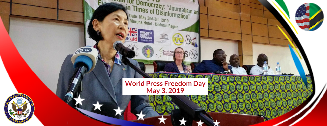 Remarks by Chargé d'Affaires Dr. Inmi Patterson on World Press Freedom Day