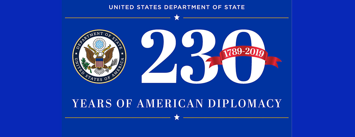 U.S. Department of State turns 230