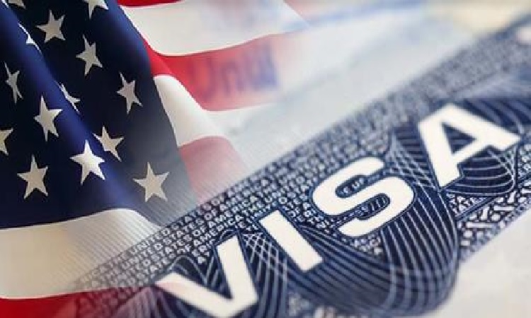 Image result for images of USA flag and Visa