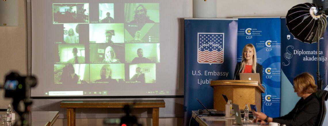 CDA Susan Falatko's Remarks to Slovenian Diplomatic Academy