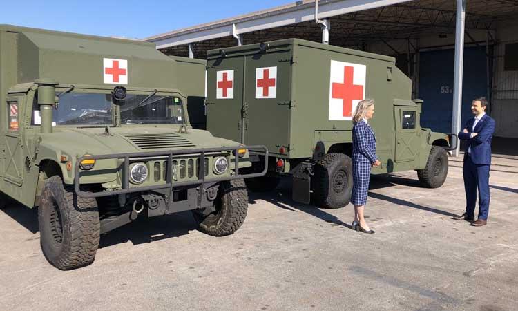 Slovenian Armed Forces Set up Mobile Medical Treatment Facility in Ljubljana – Apr 01- 2020