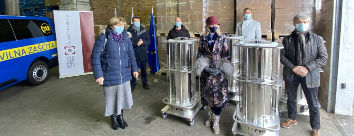 U.S. Embassy Responds to Ongoing Pandemic with Additional Donations for Slovenia