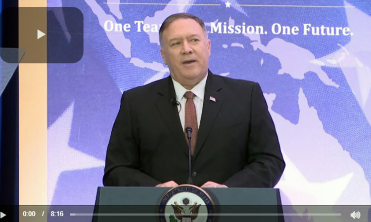 Secretary of State Michael R. Pompeo