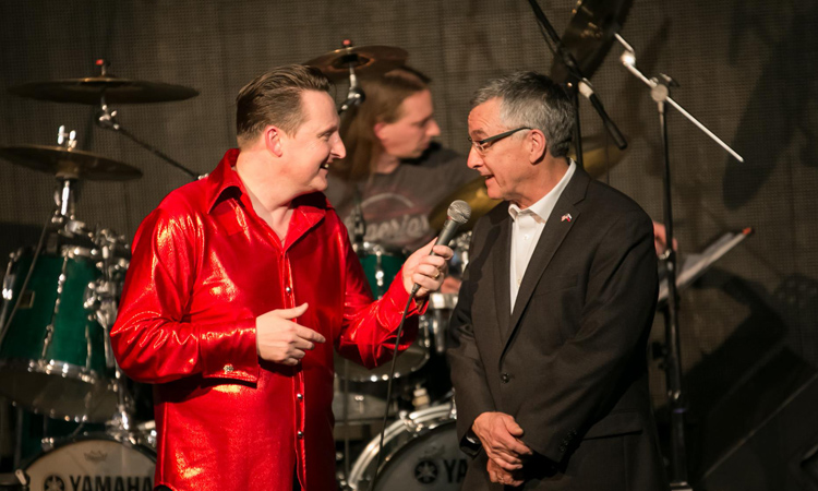 Ambassador Hartley -Celebrating Global Icon Elvis Presley