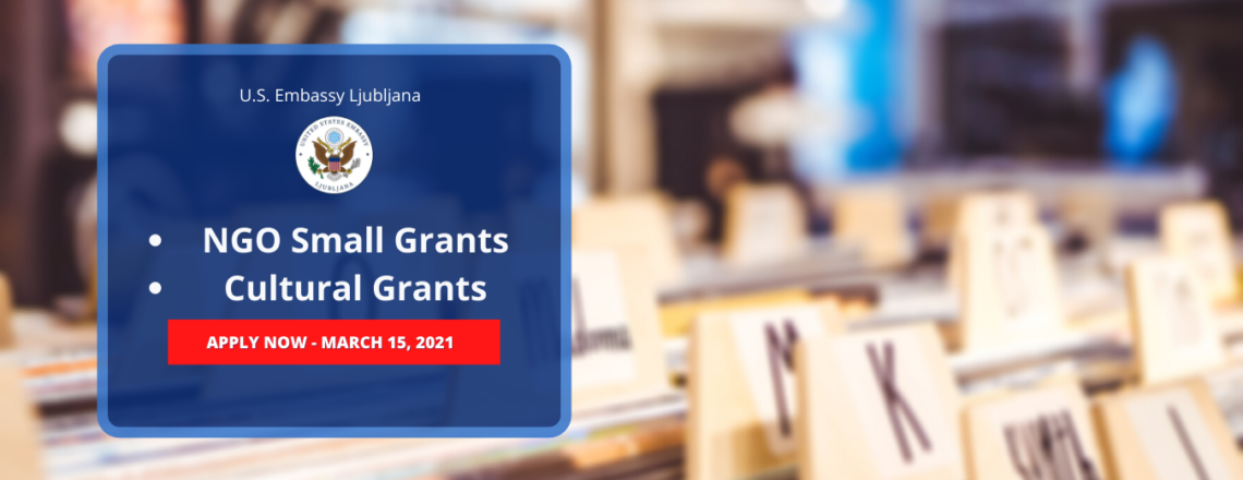 Notice of Funding Opportunities: NGO Small Grants & Cultural Grants