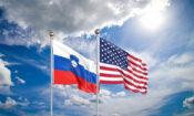 United,States,Of,America,Vs,Slovenia.,Thick,Colored,Silky,Flags