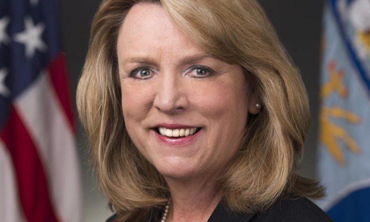 Deborah Lee James, the Secretary of the Air Force