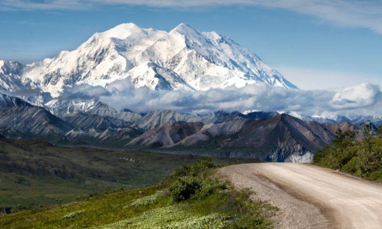 Vista desde un paraje cercano a la planicie Stony Dome (Domo pedregoso) en el Parque Nacional Denali (Alaska). (Servicio de Parques Nacionales)