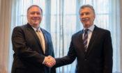 Secretario Pompeo y presidente Macri